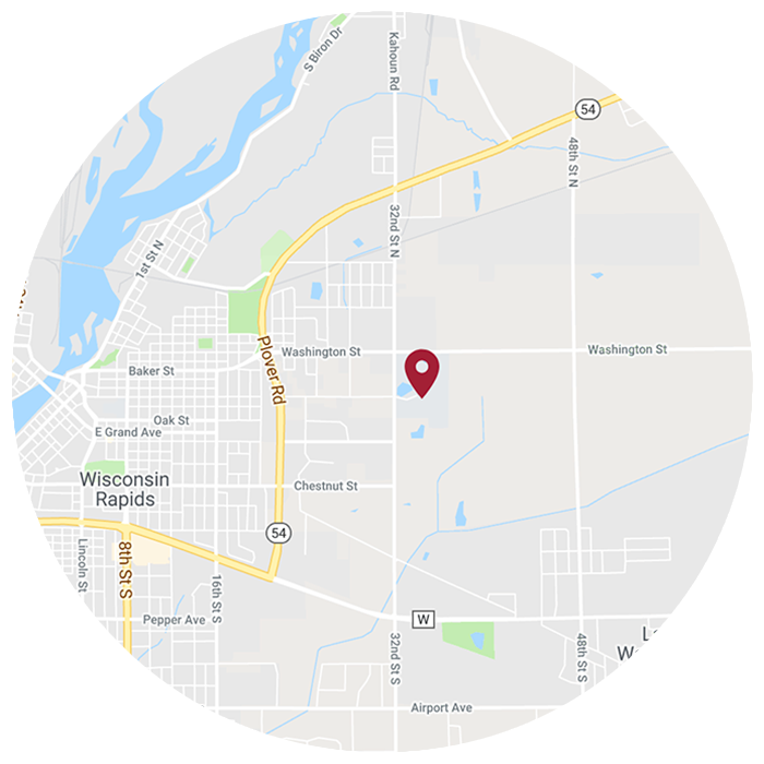 Wisconsn Rapids Location