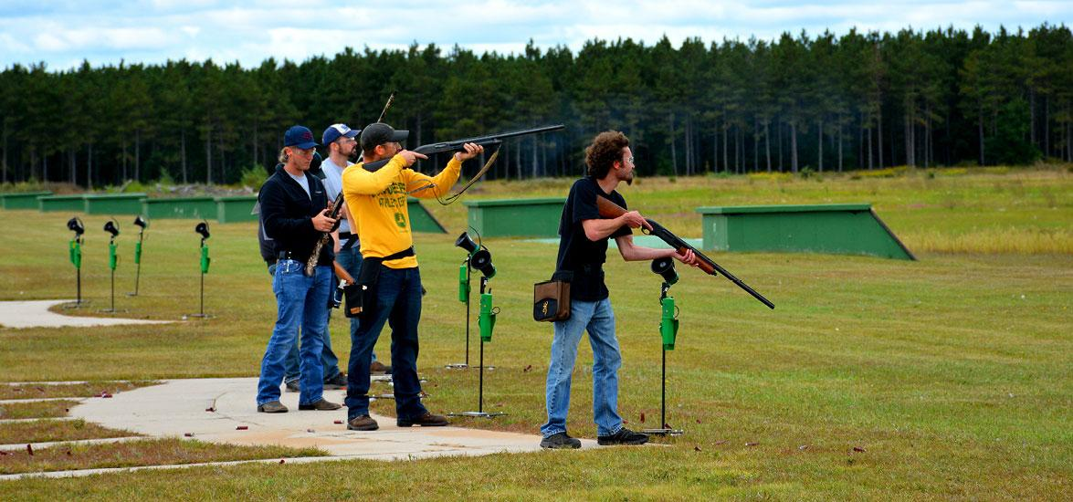 Competitors take aim during Mid-State Technical College's annual Trapshoot Fundraiser last September at the Wisconsin Trapshooting Association in Nekoosa. Registration is now open for this year's Sept. 11 event.